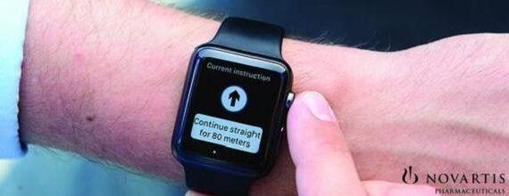 Navigatie-app voor blinden en slechtziende op Apple Watch