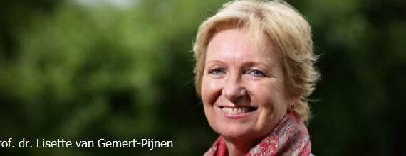Professor doctor Lisette van Gemert-Pijnen in redactieraad ICT&health