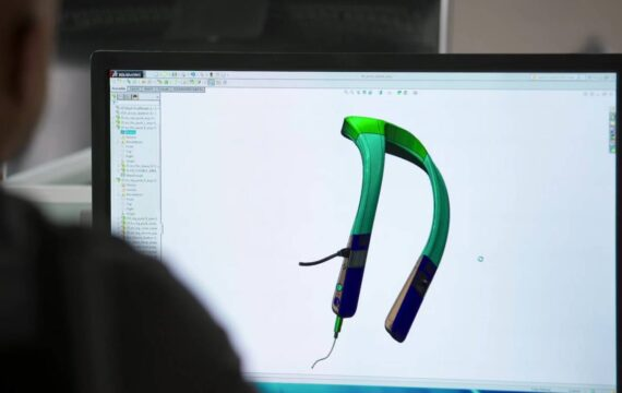 Toyota ontwerpt wearable voor blinden