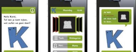 Studententeam van Hogeschool Utrecht wint ProjectB challenge met autisten app