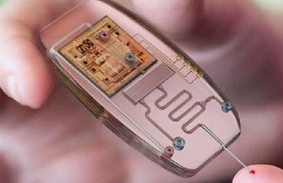 Laboratorium op een chip