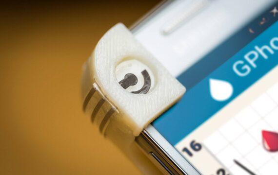 Nieuw smartphone-omhulsel maakt glucosetest 'on the go' mogelijk