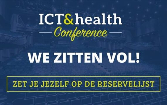 De ICT&health Conference 2018 is vol!