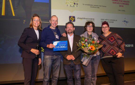 Winnaars e-healthweek-app krijgen prijs tijdens slotmanifestatie