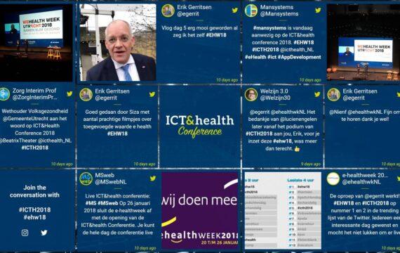 ICT&health conferentie en E-healthweek trending topic op Twitter NL