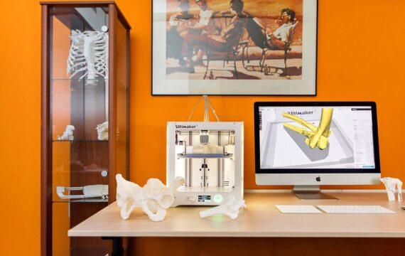 3D-kopie botten helpen chirurgen bij operatie complexe breuken