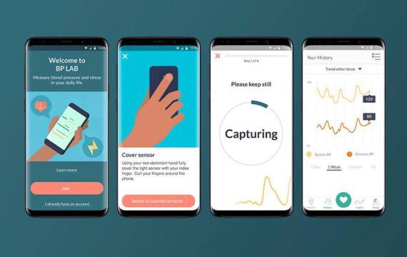 Samsung, UCSF ontwikkelen app voor meten bloeddruk, stress