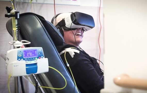 UMCG biedt betere voorbereiding op bestraling met VR-app