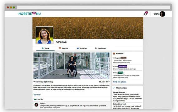 Maastricht UMC+ lanceert platform Hoestie voor kankerpatiënten