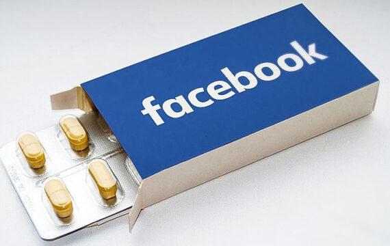 Facebook gaat strijden tegen gebruik sterke pijnstillers