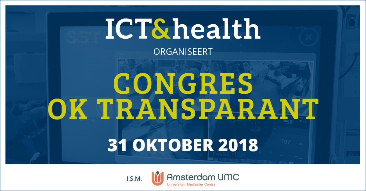 Congres OK transparant Amsterdam UMC ICT&health
