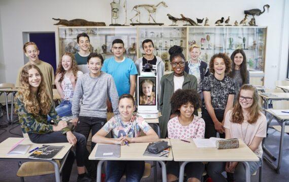 KlasseContact laat 450 zieke kinderen les volgen