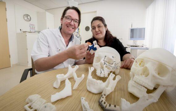 3D-printing ingezet bij bouwen nieuwe onderkaak