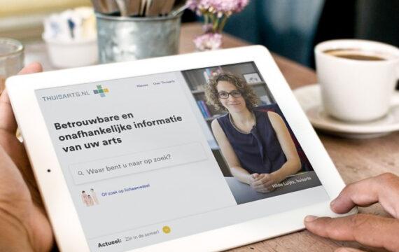 Thuisarts.nl op shortlist Europese Digital Communication Awards