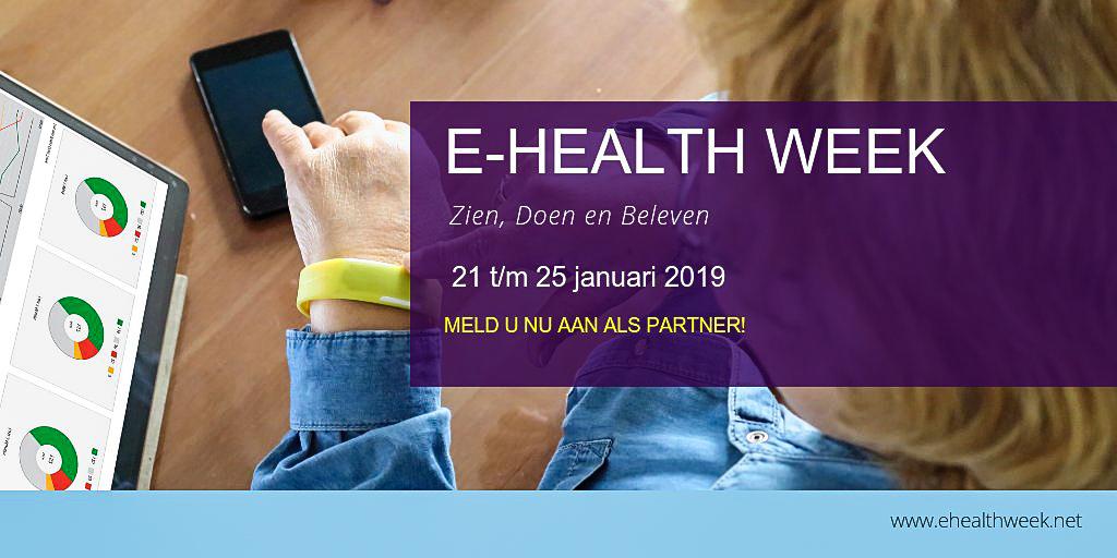 e-healthweek 2019 zorg e-health ICT&health
