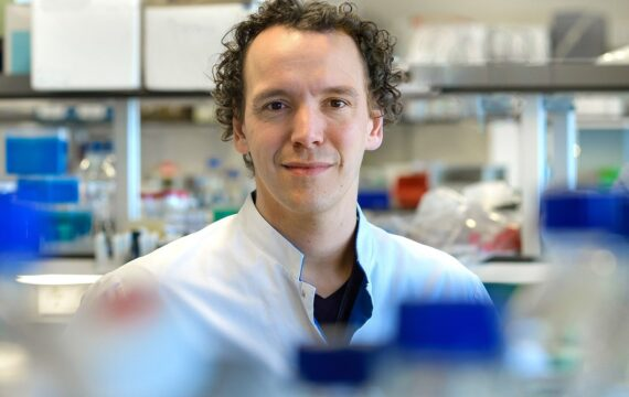 Wilbert Zwart krijgt ASPIRE-prijs voor medicijntest op 3D-printmatrix