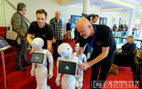 Nederlanders hebben vertrouwen in zorgrobots