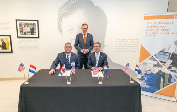 Life sciences hubs Nederland, Massachusetts bundelen krachten