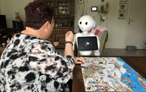 Philadelphia deelt onderzoeksuitkomsten eerste verkenning Sociale robotica als impuls voor meer zelfstandigheid