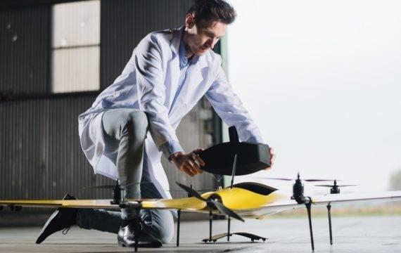 Drones gaan in pilot bloed, medicatie vervoeren