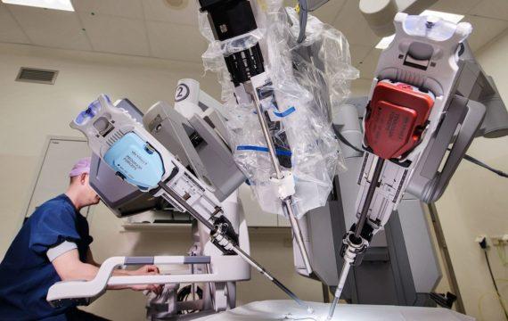 Robot helpt urologen St. Antonius Ziekenhuis