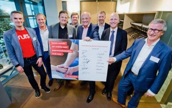 Zeven ICT-leveranciers committeren zich aan Samen Vooruit