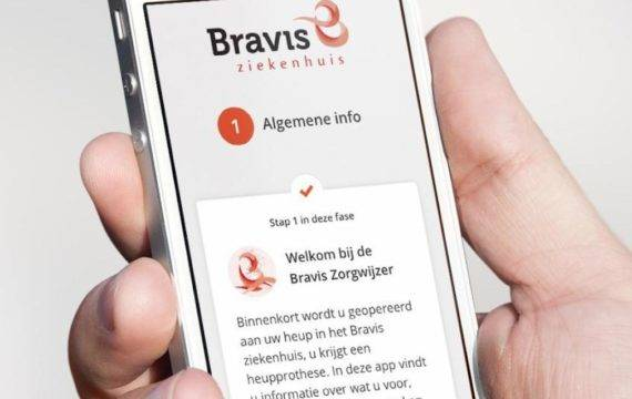 Bravis en CWZ breiden zorg-app verder uit
