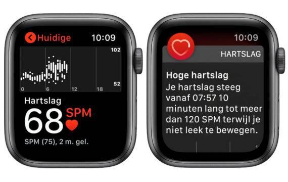 Kan de Apple Watch hartaanvallen helpen voorkomen?