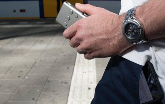 Award voor eerste draadloze smartphone braille toetsenbord