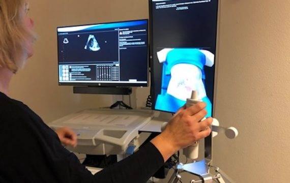 UMCG neemt eerste echosimulator in gebruik