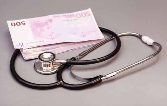 stethoscope, euro, subsidi, zorg, VWS,