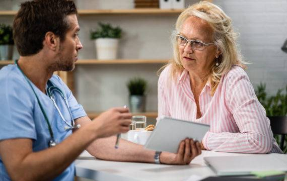 E-health is de toekomst ja/nee (doorhalen wat niet van toepassing is)