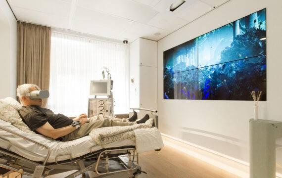 'Technologie, patiënt en verpleging vormen samen healing environment'