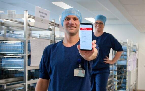 A²O-app brengt meer rust en betere logistiek op OK