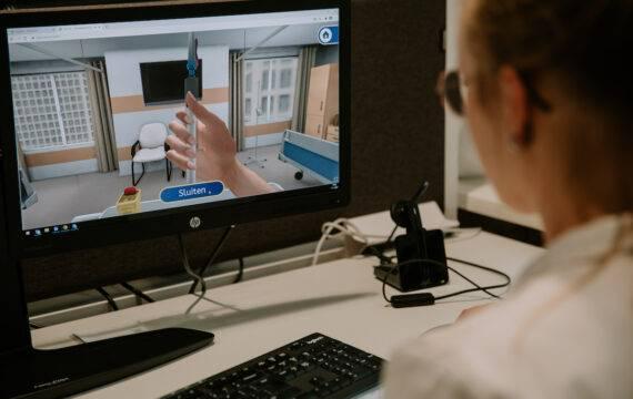 Vaccineren oefenen met 3D-simulatie game