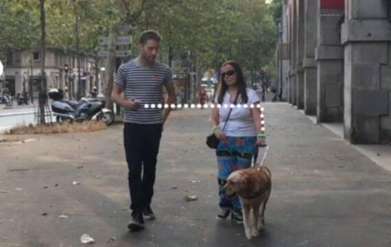 Navigatie oplossing voor blinden en slechtzienden