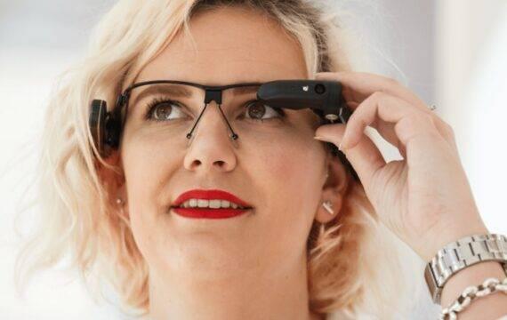 De slimme bril is een blijvertje bij tanteLouise