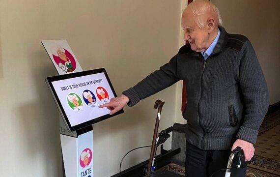 Digitale Tante Co geeft ouderen een stem