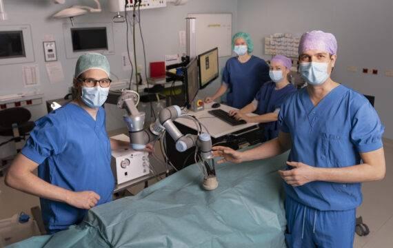 Nieuwe innovatieve behandeling voor slagadervernauwing