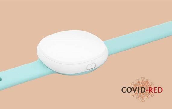 Slimme armband moet coronabesmetting sneller signaleren