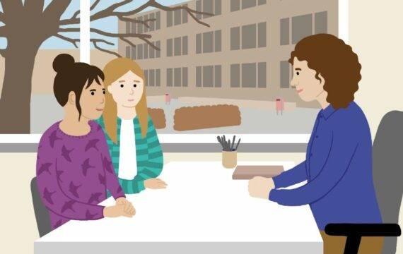 Laagdrempelige beeldverhalen, animaties over psychische problemen