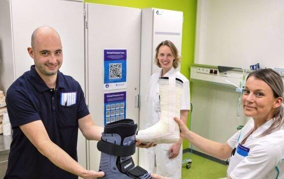 Virtual Fracture Care breder toegepast bij nazorg