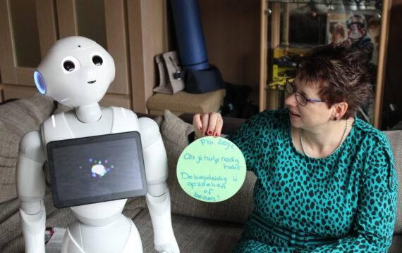 Jezelf sterker voelen met een sociale robot in huis