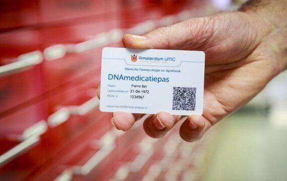 DNAmedicatiepas helpt tegen bijwerking medicatie