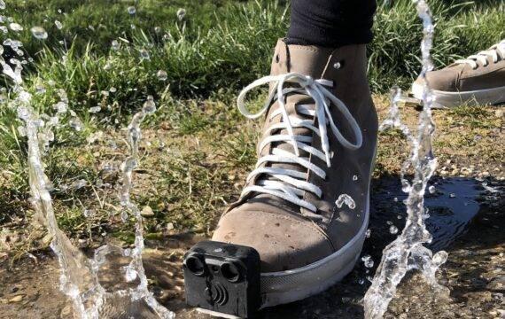 Slimme schoen wijst blinden en slechtzienden de weg