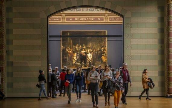 Virtuele rondleiding bewoners verpleeghuizen in Rijksmuseum