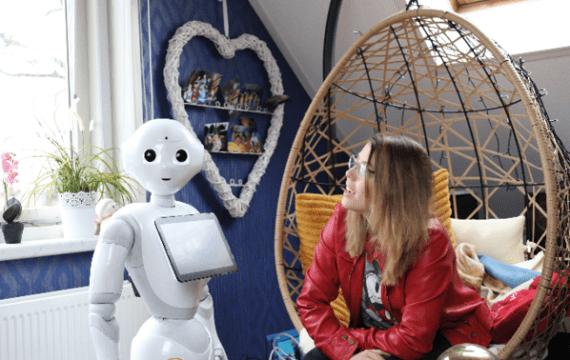 'Robots helpen mensen hun eigen leven te blijven leven'