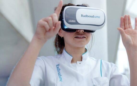 Een boost voor virtual reality in de zorg
