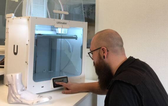 3D-geprinte schoenleesten bij 's Heeren Loo