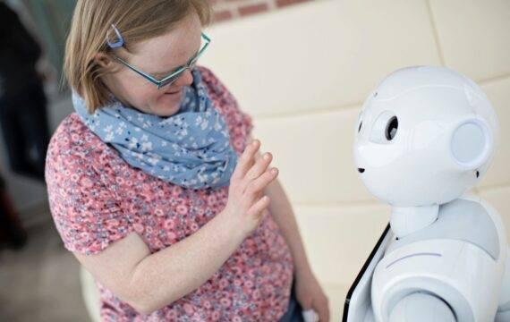 Philadelphia Koploper arbeidsmarktinnovatie met robot Phi